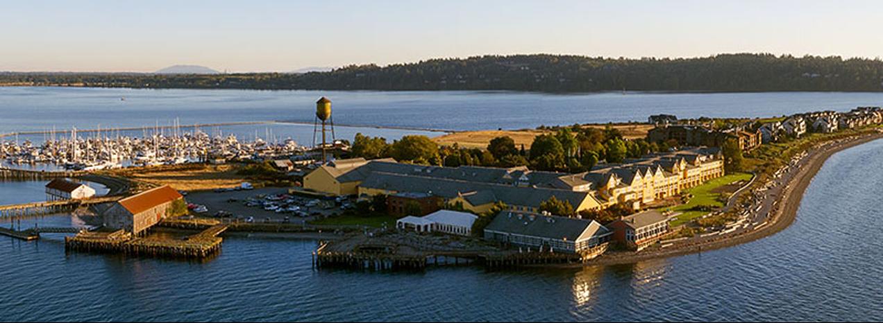 Semiahmoo Resort on the coast of Blaine, Washington state